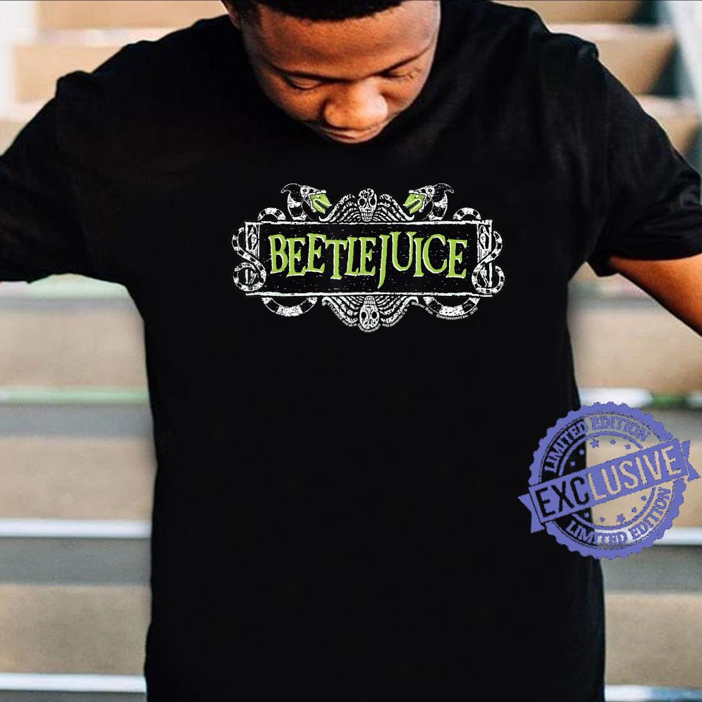 Beetlejuice Green Sign Logo Shirt