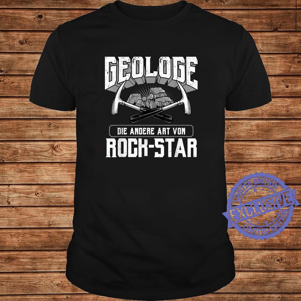 Geologist Die andere Art Von RockStar Geologie Shirt long sleeved