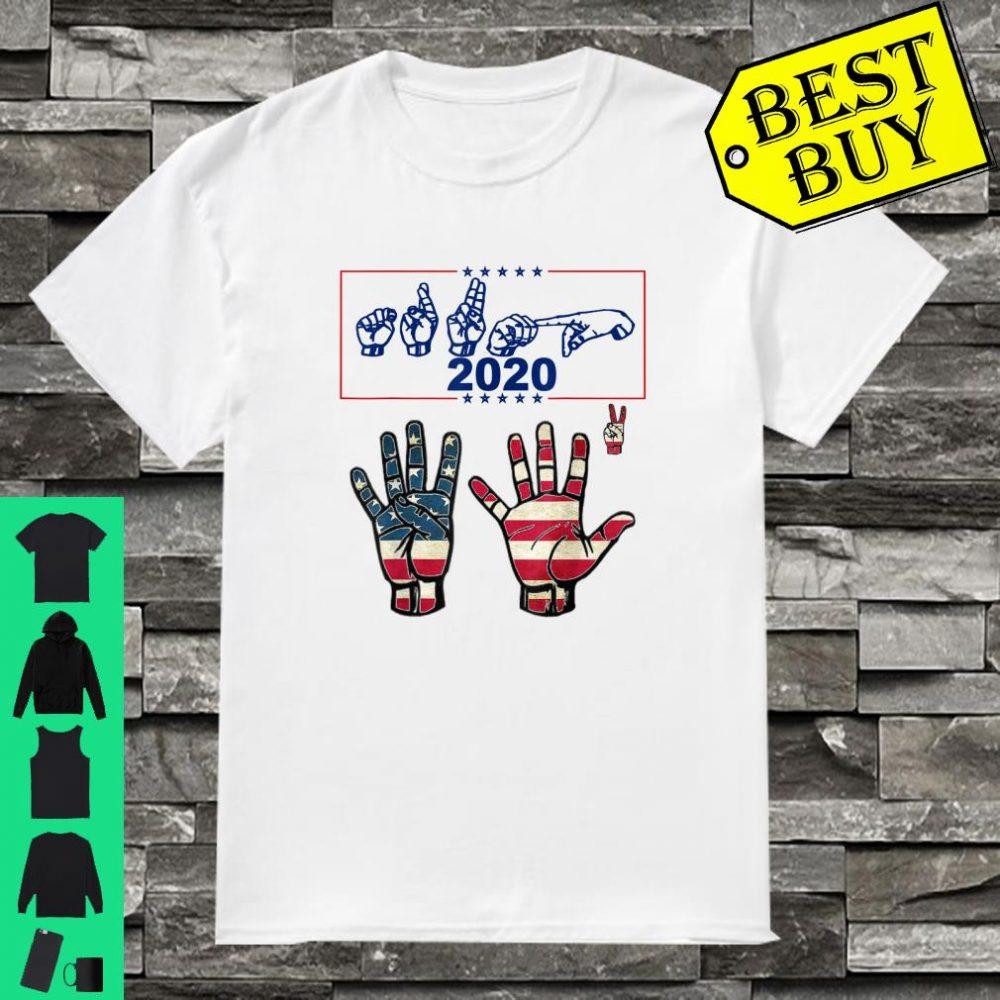 ASL 45 Squared Trump 2020 Second Term USA Vintage shirt