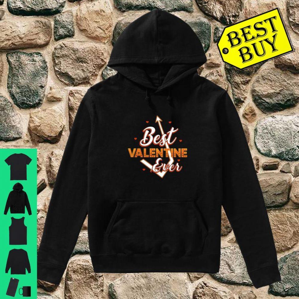 Best Valentine Ever Love Arrow Beautiful Shirt hoodie