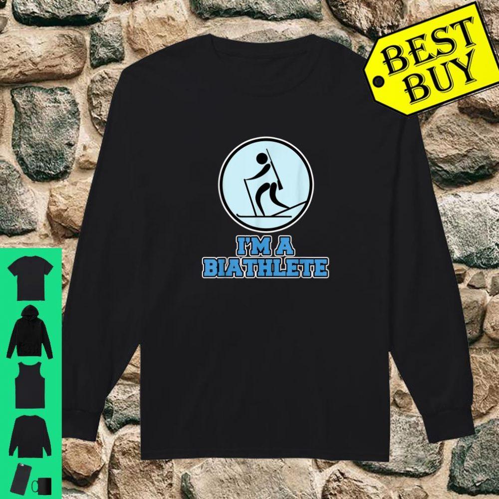 Biathlon I'm a Biathlete shirt long sleeved