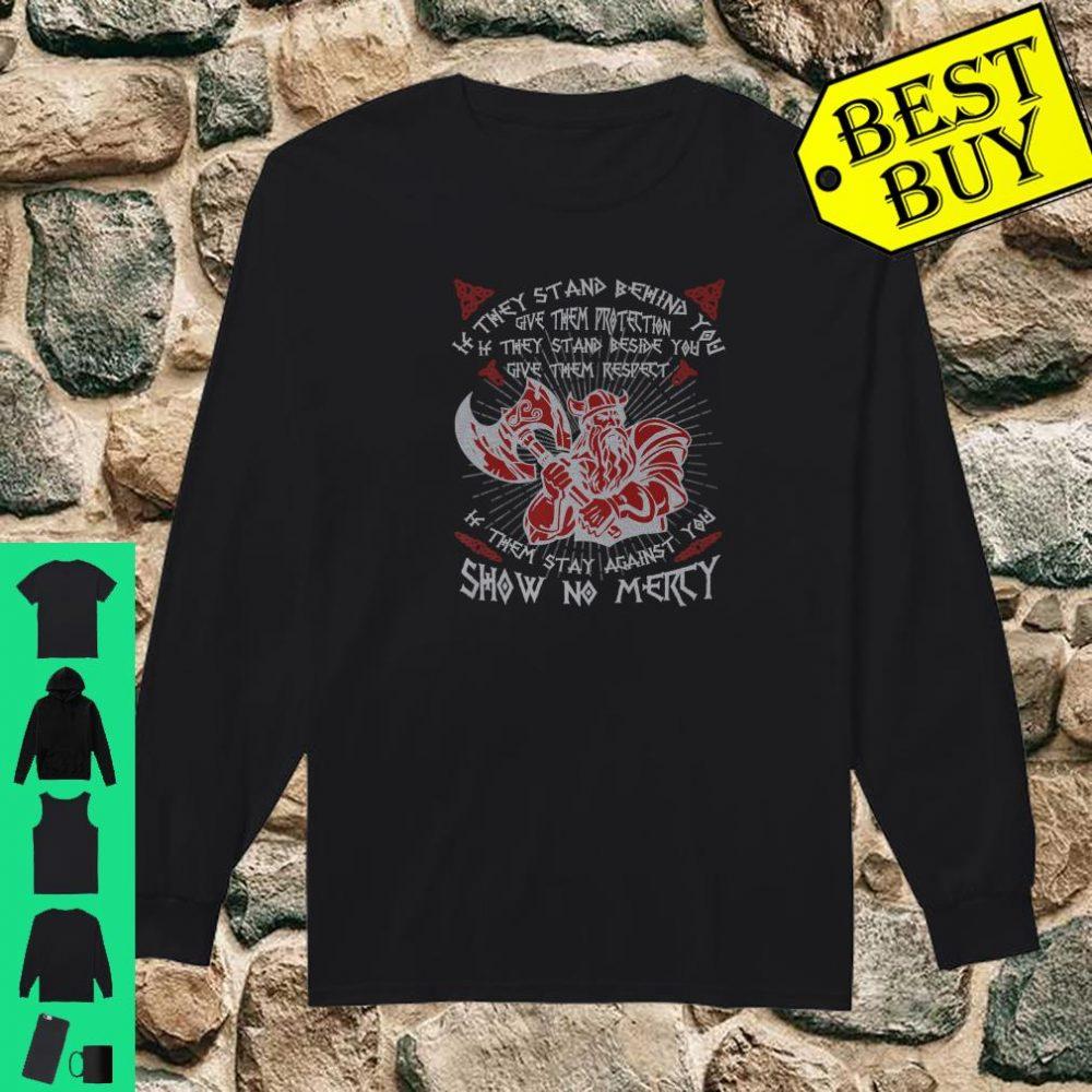 Brave Viking Viking Roots Fans Culture Celtic Shirt long sleeved