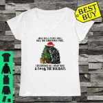 Cat Jingle Bells People Smell Kill The Christmas Tree shirt ladies tee