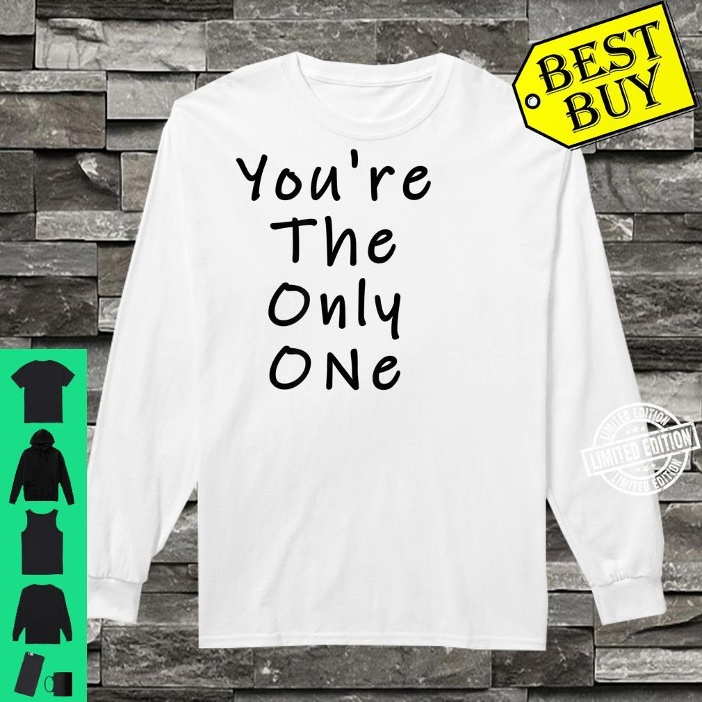 Funny White Lie Party You're The Only One Shirt long sleeved