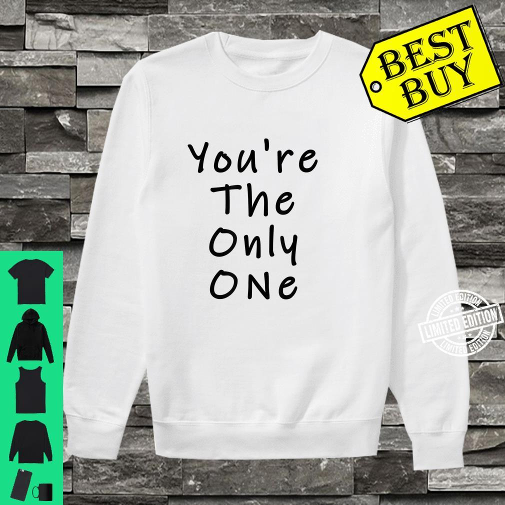 Funny White Lie Party You're The Only One Shirt sweater