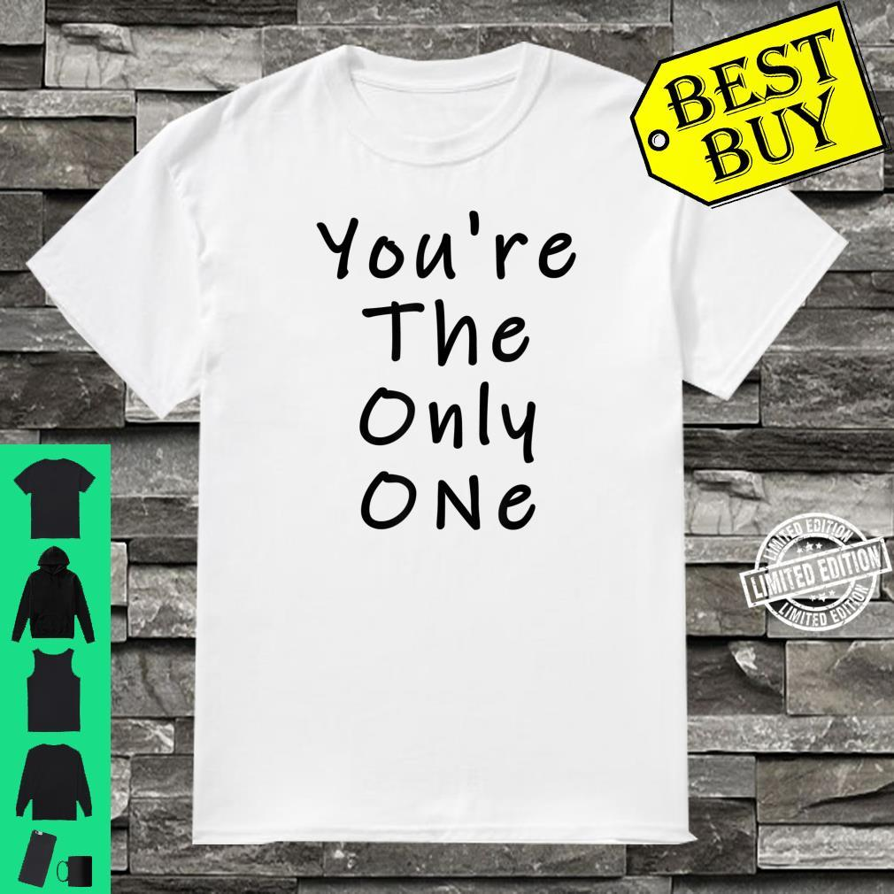 Funny White Lie Party You're The Only One Shirt