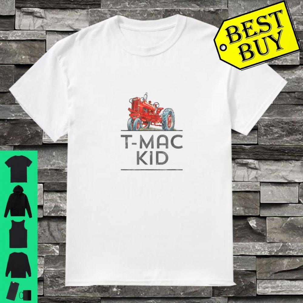 I'm a Tractor I LOVE T-Mac shirt