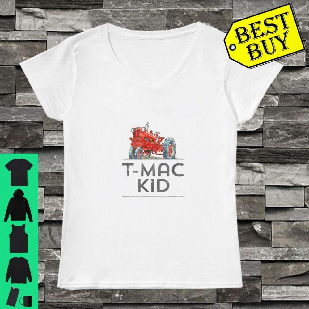 I'm a Tractor I LOVE T-Mac shirt ladies tee