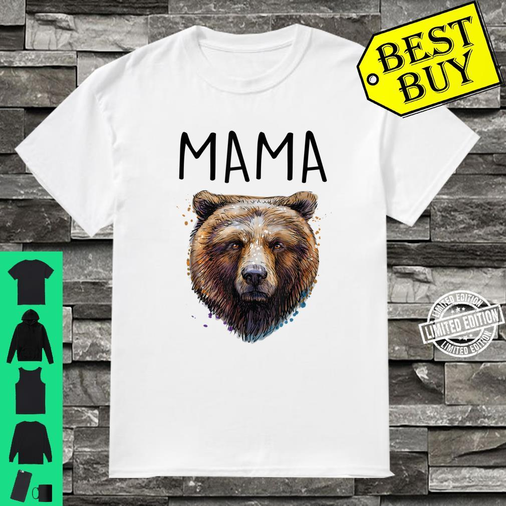 Mama Momma Mother Bear Shirt