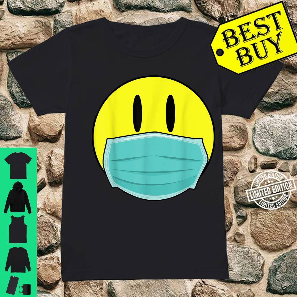Mens Retro Smiley Face 2020 Acid Man with Mask Shirt ladies tee