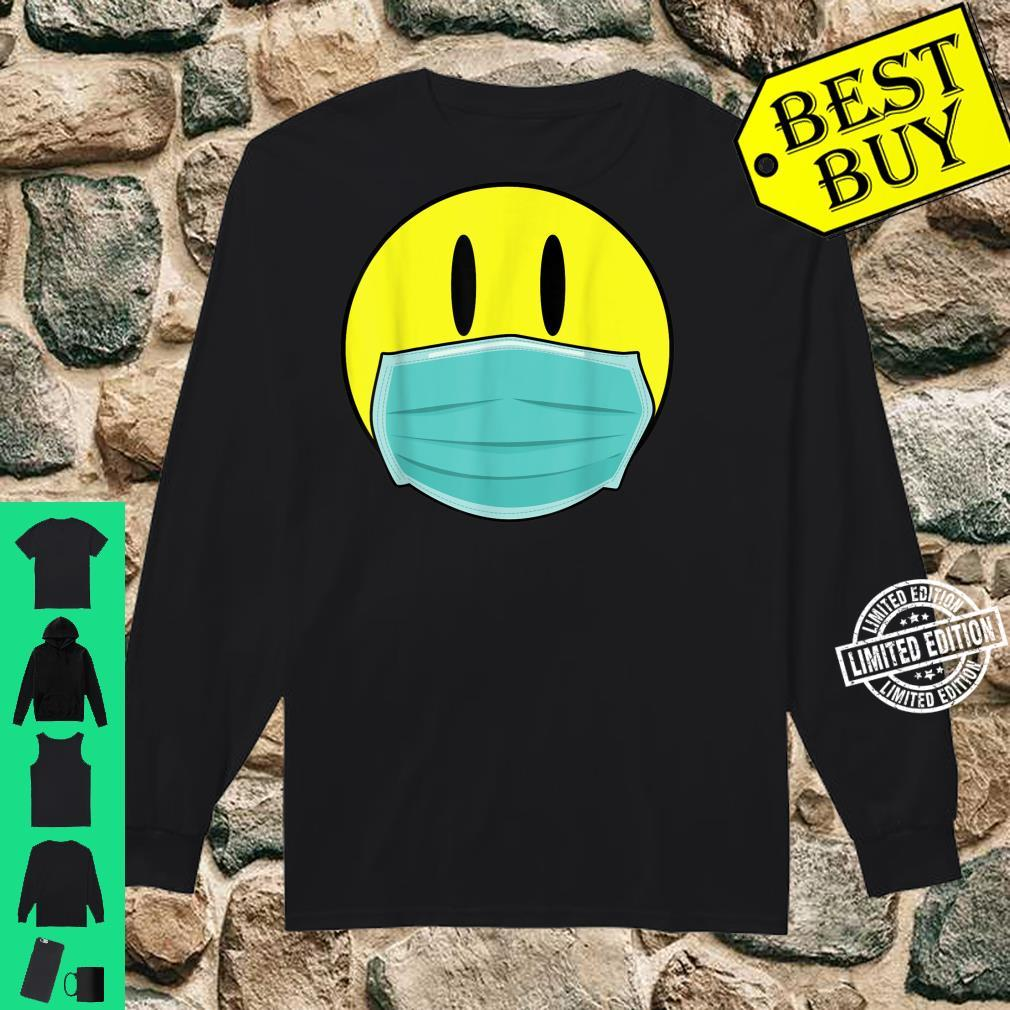 Mens Retro Smiley Face 2020 Acid Man with Mask Shirt long sleeved