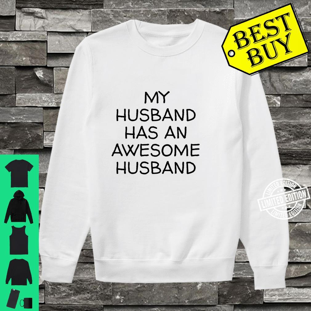 My Husband Has An Awesome Husband LGBTQ Pride Gay Lesbian Shirt sweater