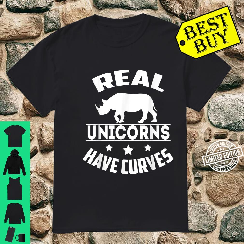 Real unicorns have curves Shirt