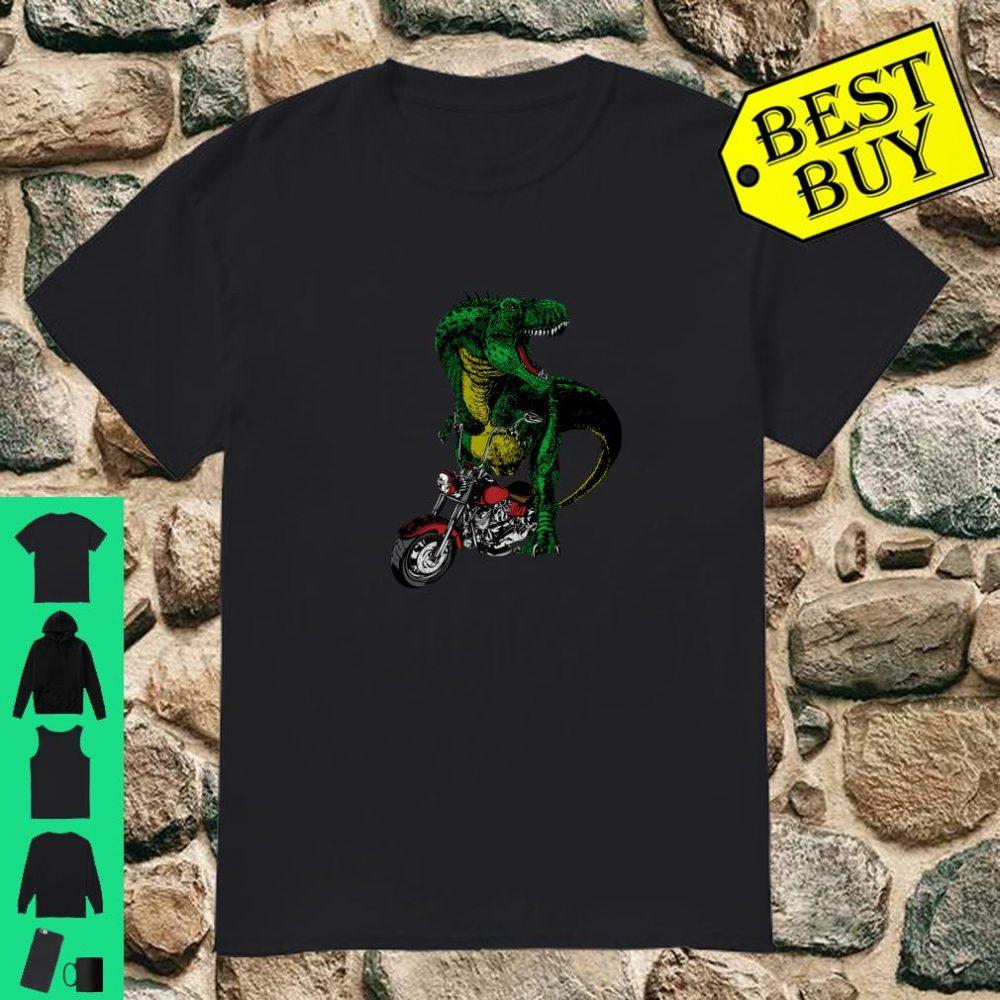 T-Rex on a Chopper shirt
