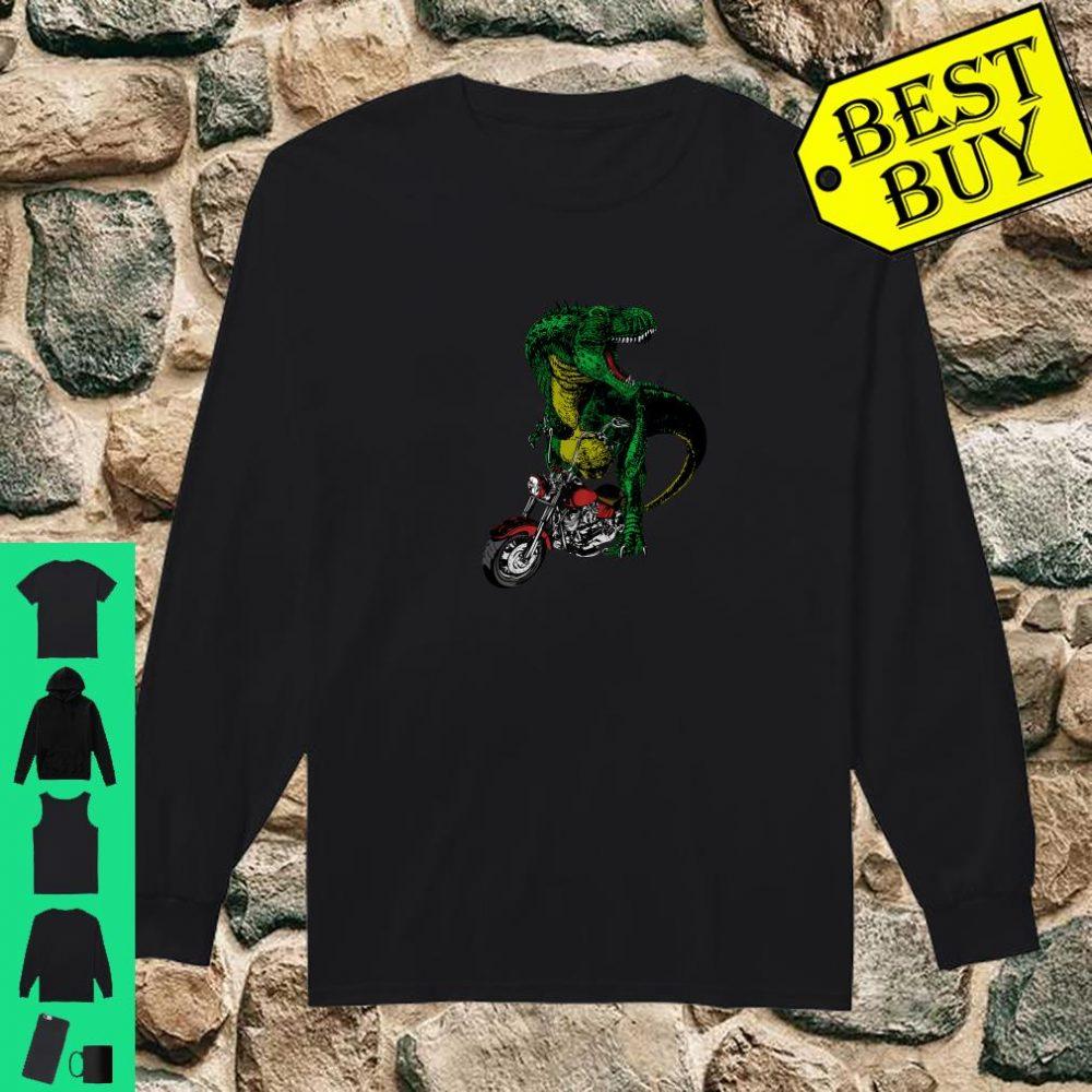 T-Rex on a Chopper shirt long sleeved