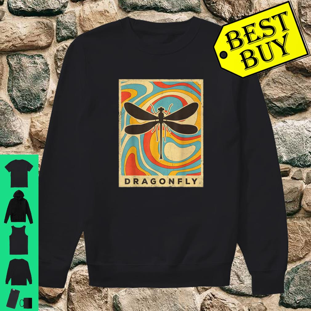 Vintage Dragonfly Lover Animal Retro Style shirt sweater