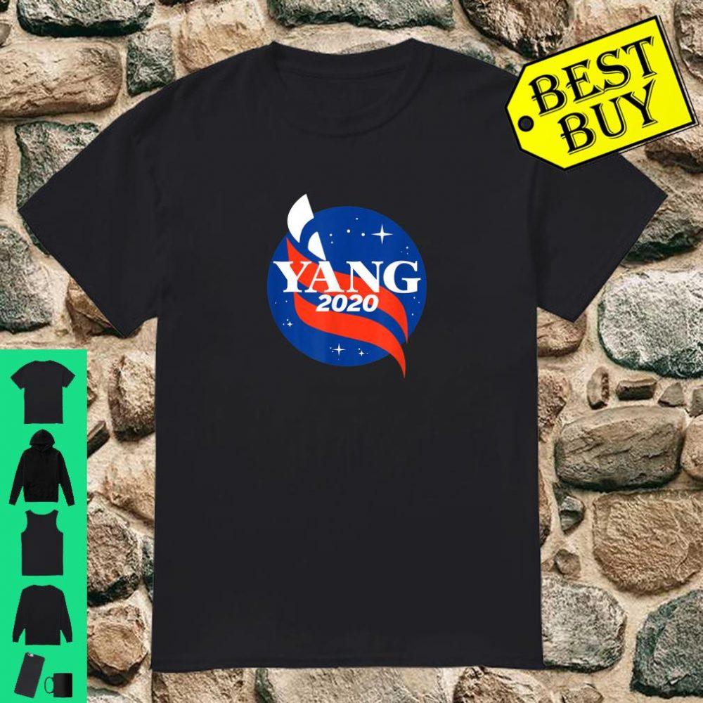 Yang Gang 2020 Space Yang for President Rally and Support shirt