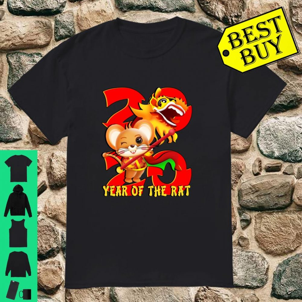 Year Of The Rat 2020 Chinese New Year shirt