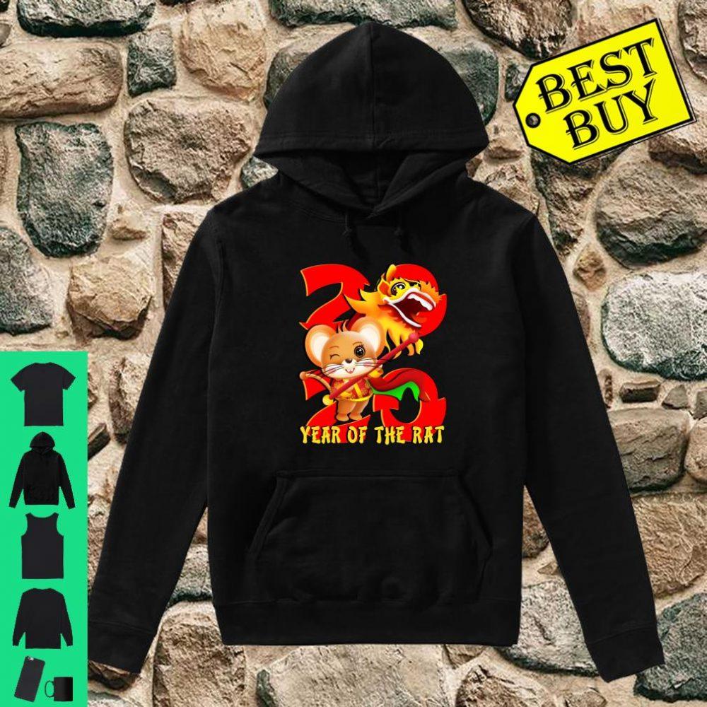 Year Of The Rat 2020 Chinese New Year shirt hoodie