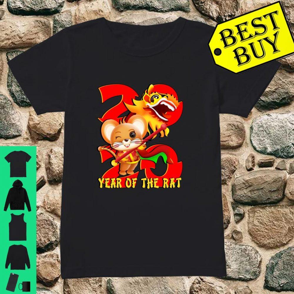 Year Of The Rat 2020 Chinese New Year shirt ladies tee